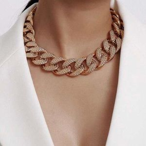 Chunky Golden Adjustable Necklace New